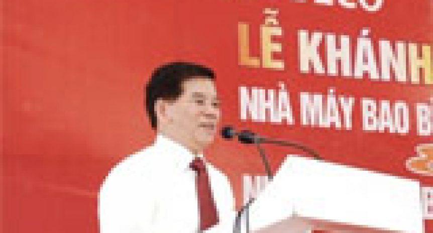 Chủ tịch nước khánh thành nhà máy bao bì quy mô bậc nhất châu á tại Nghệ An