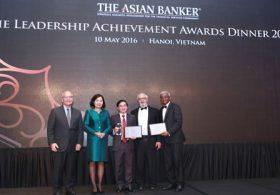 """Tổng giám đốc MB nhận giải """"thành tựu lãnh đạo"""" của ASIAN BANKER"""