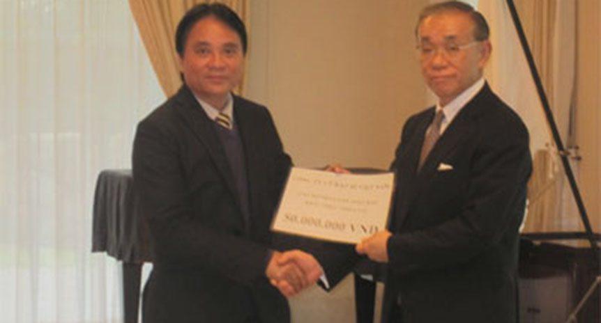 Công ty Bao Bì Việt Nam ủng hộ động đất tại Nhật Bản